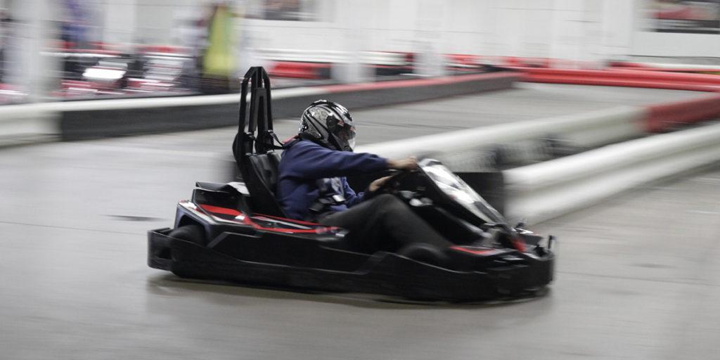 Navisió: pantallas informativas de un circuito de karting